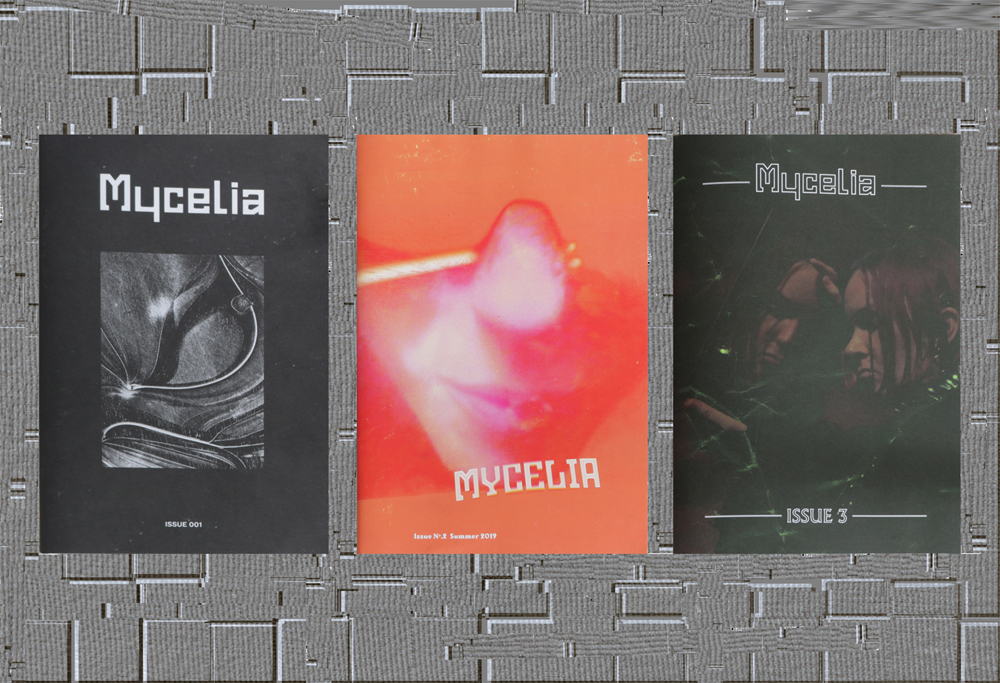 Issues 1, 2 and 3 of Mycelia published by Hedera Felix