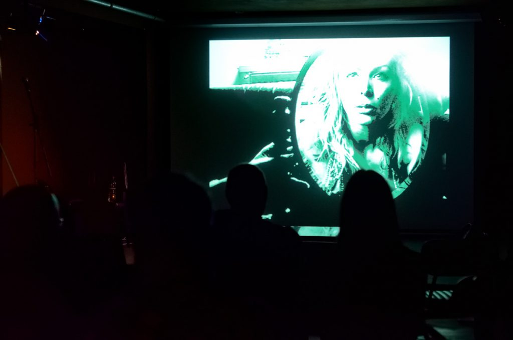 Avant Kinema, screening at Launch Party, ROST. Photo: Andrew Mckenna