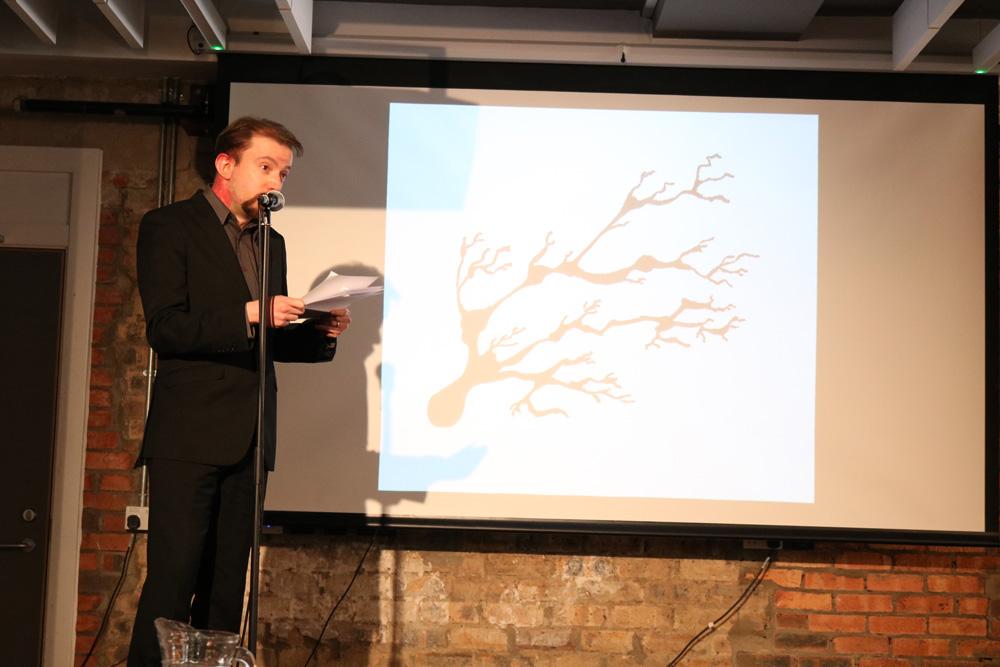 Mark Bolsover at Cymera, Edinburgh. Photo: Richard Taylor